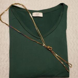 IVOIRE Tops - IVOIRE 3/4 Sleeve Shirt